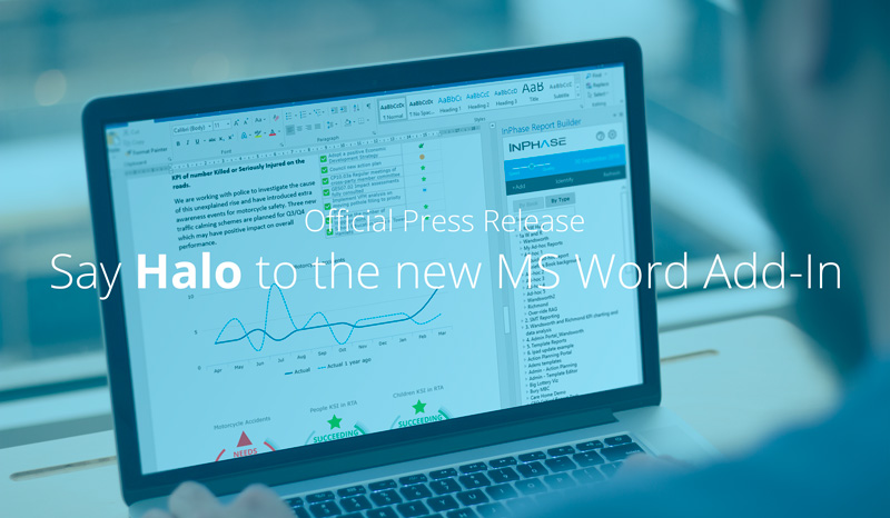Halo. A new way to create a Word reports [Press Release]